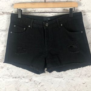 NWOT HYPE Jean Shorts Junior Sz 5
